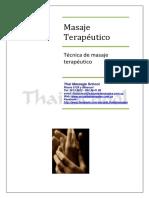 06.Tecnica de Masaje