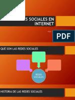 Plantilla Exposicion de Las Redes Sociales en La Internet