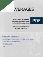 Chapter 1 Beverage -Soft Drink