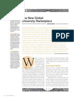The New Global University Marketplace