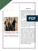 Formatos de Contabilidad y Finanzas
