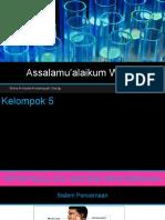 Kelompok 5 (Patofisiologi Sistem Pencernaan) Ibu Yekti