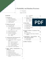 544 Prob Rand Proc Summary
