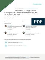 INTENSIDAD MACROSÍSMICA ESI-07 Y EFECTOS GEOLÓGICOS DEL TERREMOTO DE PEDERNALES DEL 16.04.2016 (Mw 7.8)