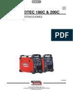 Manual de La Maquina de Soldar Speedtec 200c