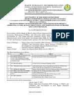 01. Pengumuman Shortlisting PSC Paket 2 (17 April 2017)