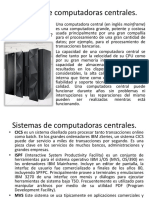 Sistemas de Computadoras Centrales
