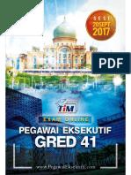 panduan pegawai eksekutif LHDN gred 41
