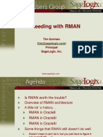 Succeeding With RMAN