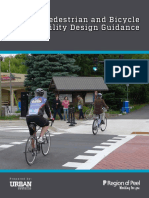 Pedestrian Bicycle Facility Design Guidance