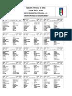 Calendario Campionato Seconda Categoria Gir C