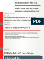 Make Android App Memory Usage Smart on Devices