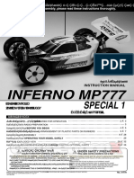 Kyosho Inferno Mp777 Sp1 Manual