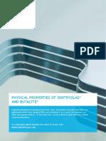 Kuraray 4 1 Physical Properties of Sentryglas