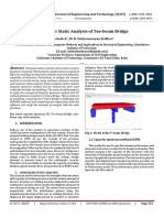 Non-linear Static Analysis of Tee-beam Bridge