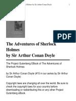 The Adventures of Sherlock Holmes[1]