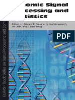 Genomic Signal Processing and Statistics