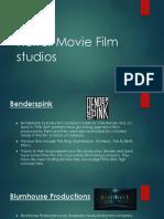 horror movie film companies