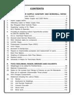 BWSSB_Schedule of Rates 2016-17