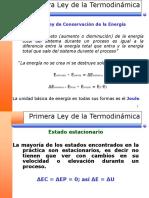 03 - Termodinamica - Primera Ley