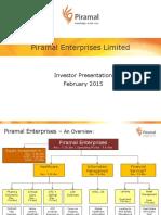 PEL Investor Presentation February 2015