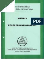 Modul 3. Pengetahuan Dasar K3