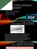 Management Proyek - Project Procurement Management