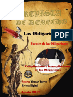 Revista Obligaciones Ylsmar Torres