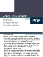 Model Jean Mc Niff