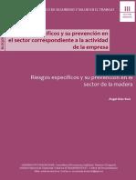 DIAZ RUIZ Angel 2014 . Riesgos Especificos y Su Prevencion en El Sector de La Madera