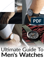 Ultimate Guide to Mens Watches