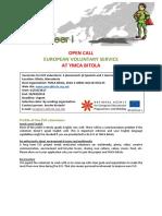 Info Pack EVS Macedonia