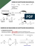 Sustitución nucleofilica