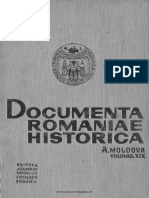 A, 19, Documenta Romaniae Historica, Moldova, 1626-1628