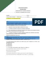 Evaluacion de Quimica2