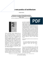 Karsten Harries - Towards a Newpoetics of Architecture