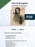 Hipotesis Avogadro