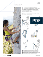 Recomendaciones Escalada Petzl Sport Catalog 2013 ES