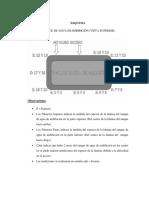 Tanque de Agua de Imbibición. Medidas de Los Espesores. Jueves 25-05-2017