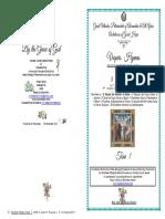 2017 7 8OCT 18AP 3 LUKE Tone 1 VESPERS St Pelagia the Penitent