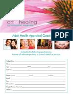 Adult Appraisal SR