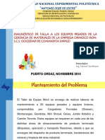 Diagnostico Falla Equipos Pesados.