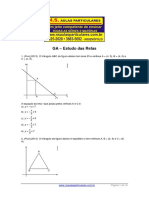 Geometria Analitica Estudo Da Reta