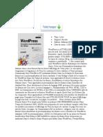 Wordpress Conception Et Personnalisation Des Thmes