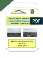 Estudio Impacto Ambiental Aass Quinsaloma