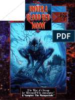 WOD - Werewolf - The Apocalypse - Under a Blood Red Moon