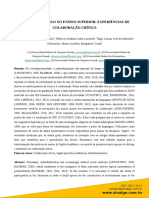 Araújo, p. p. b.; Lacerda, d. c. l.; Almeida, t. l. j. (2017) Inglês Acadêmico No Ensino Superior