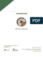 CartoDroid Manual de Referencia v0 44 x