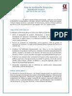 MAESTRIA GESTION DE PROYECTO UESS