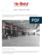 Linear Gantry Robots - Genix LP-150